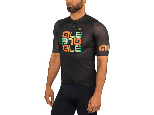 Alé Cycling Solid Mirror SS Jersey Herre black
